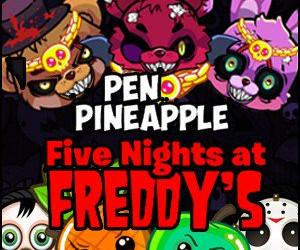 Pen Pineapple Freddys Night