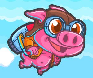 Rocket Pig – Tap to Fly